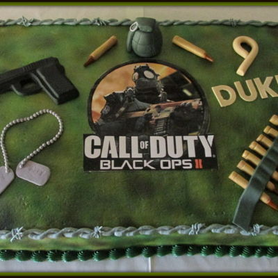 Call Of Duty Black Ops11 Cake