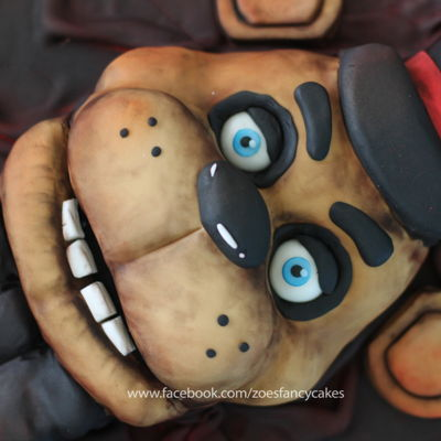 Five Nights At Freddys Horror Cake