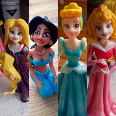 Fondant Disney Princess