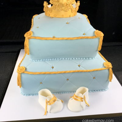 Royal Pillow Baby Shower Cake