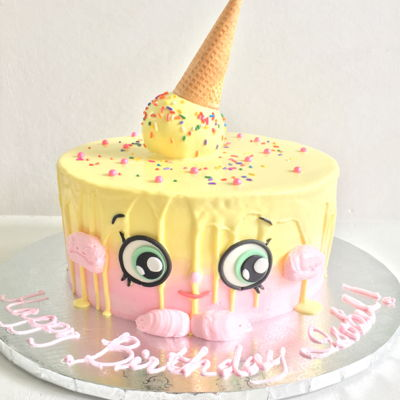 Shopkins Ice Cream Cake Kate