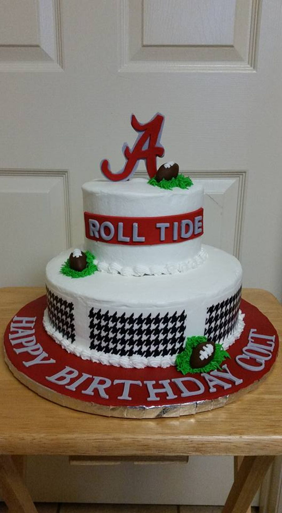 Magnificent Alabama Birthday Cake Cakecentral Com Funny Birthday Cards Online Overcheapnameinfo