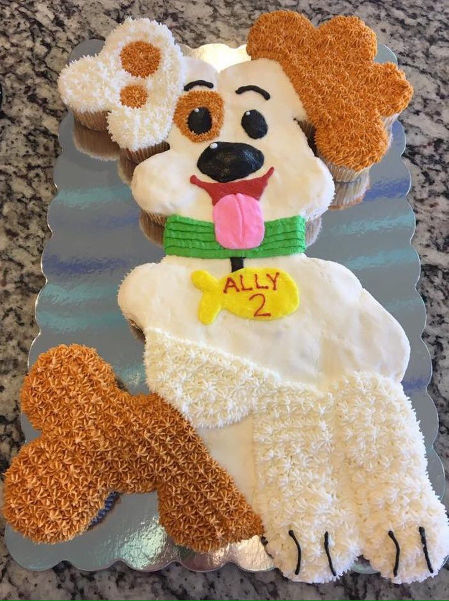 bubble guppies puppy cupcake cake cakecentral com