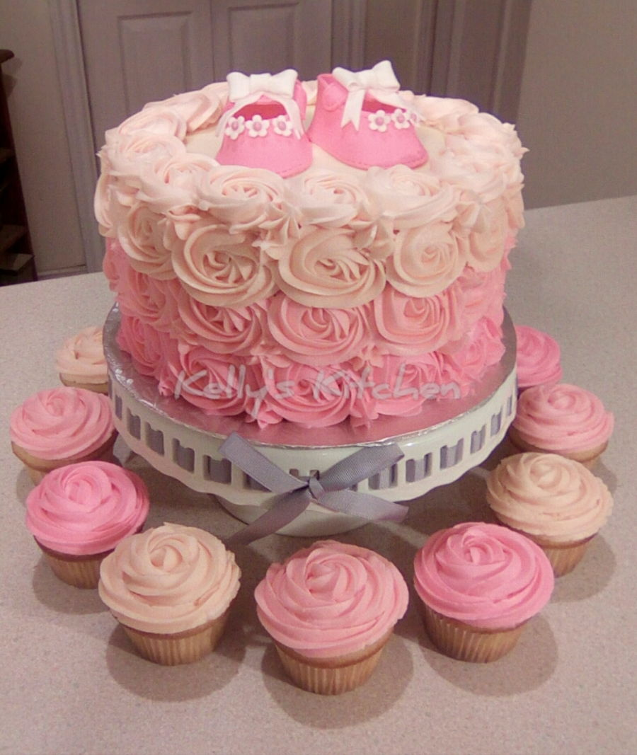 Baby Shower Cakes With Frosting