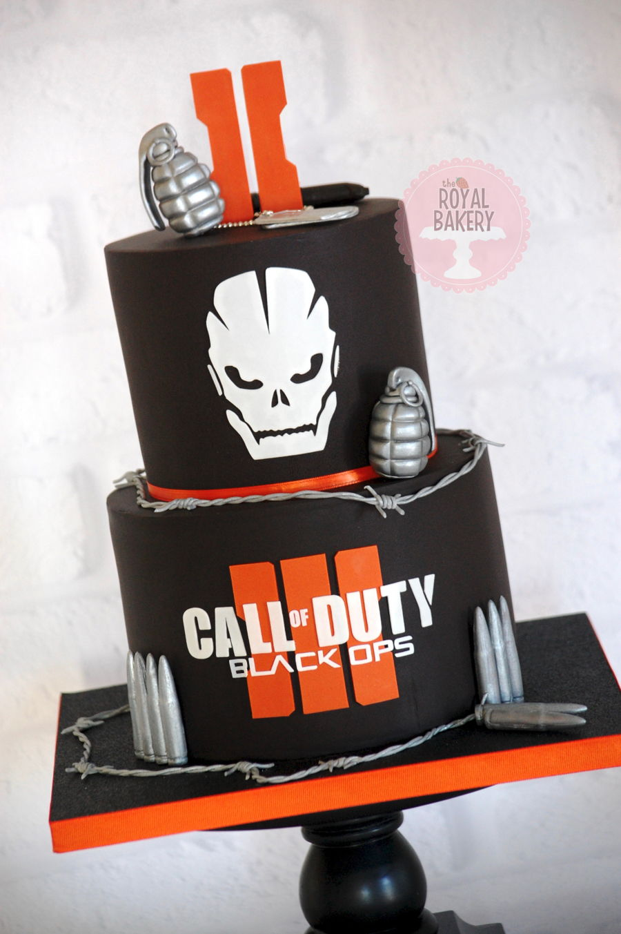 Call Of Duty Black Ops Iii Cake Cakecentral Com
