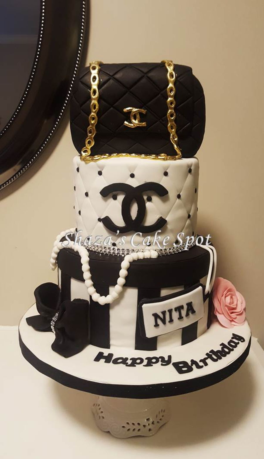 Chanel Birthday Cake Cakecentral Com