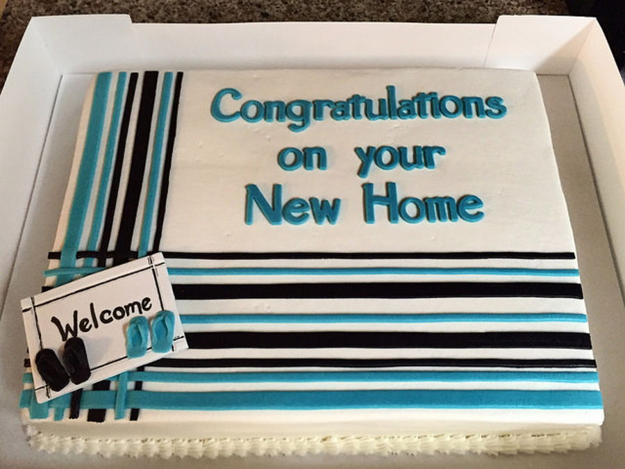 Congratulations On Your New Home Cake Cakecentral Com