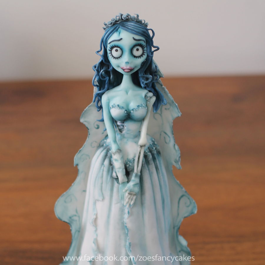 Corpse Bride Doll Cake! on Cake Central