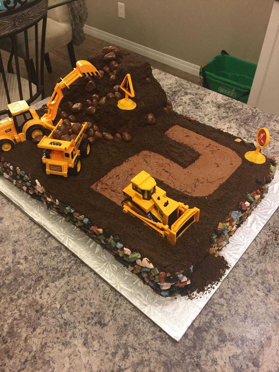 Bulldozer Cake Children