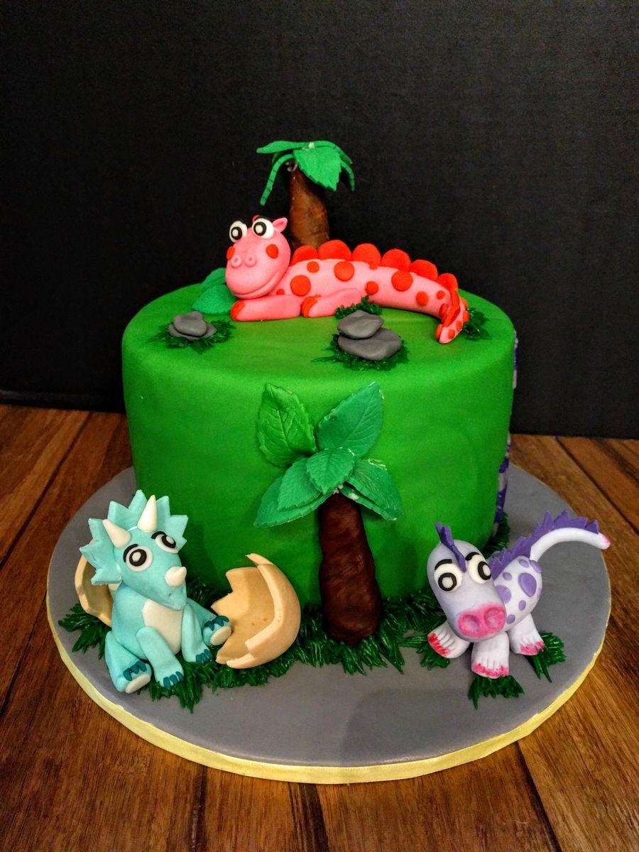 Dinosaur Birthday Cake Cakecentral