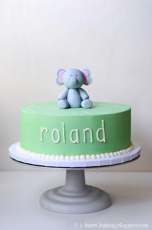 Elephant Birthday Cake Cakecentral Com