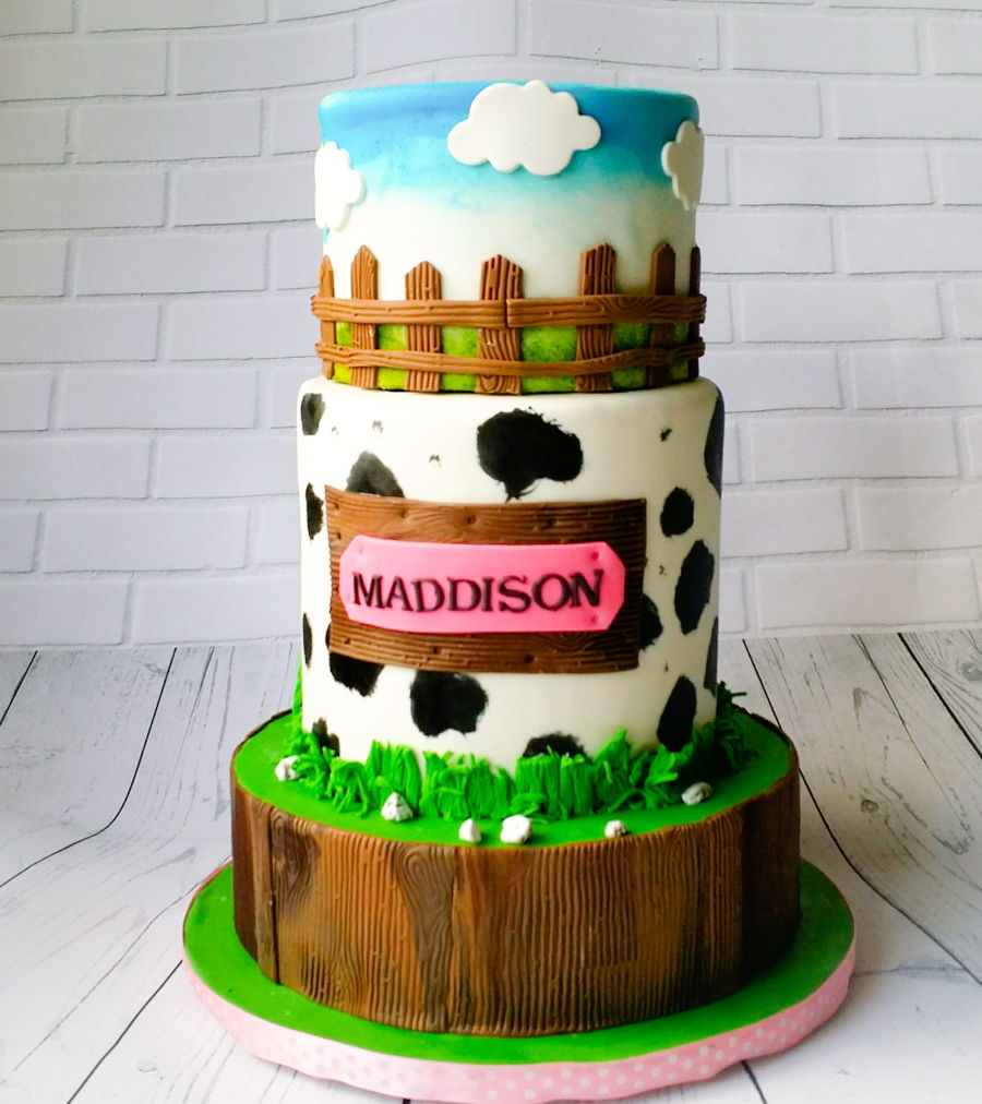 Farmer Girl Birthday on Cake Central