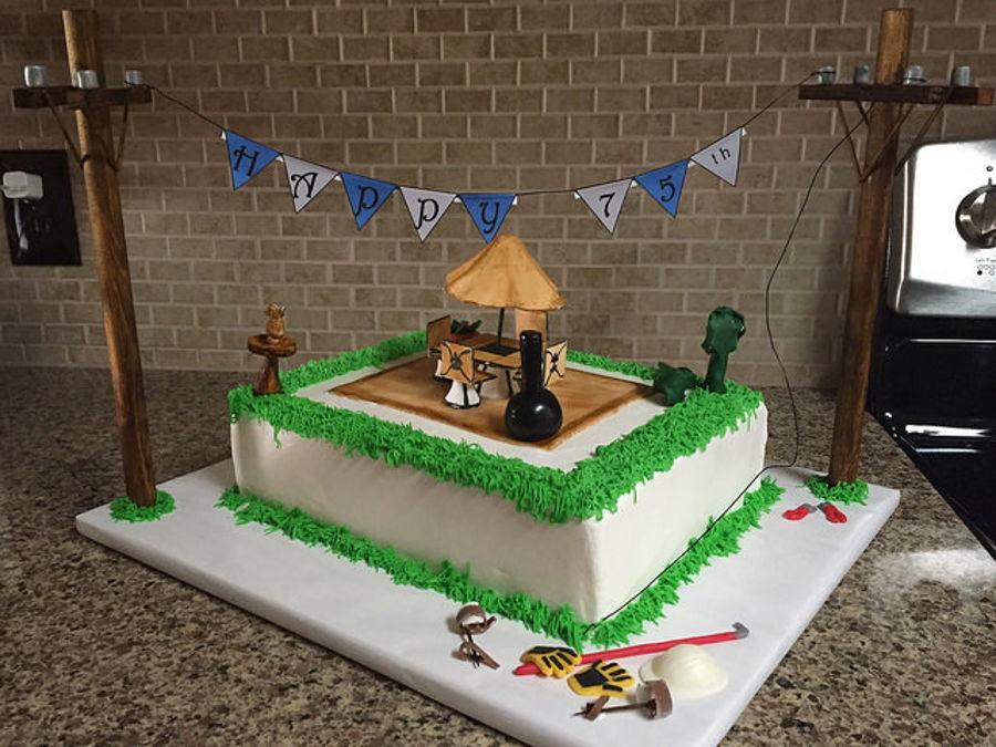 Lineman Birthday Cake On Central