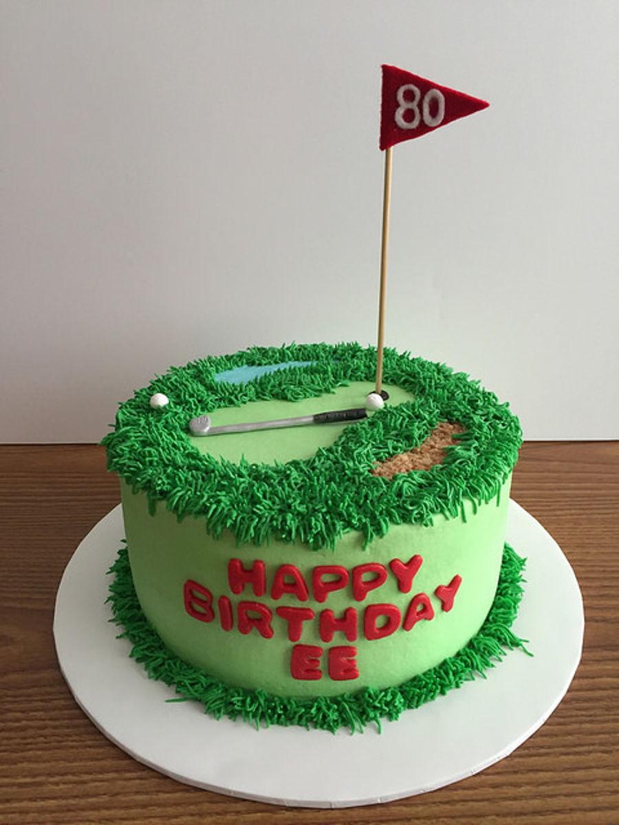 Golf Birthday Cake - CakeCentral.com