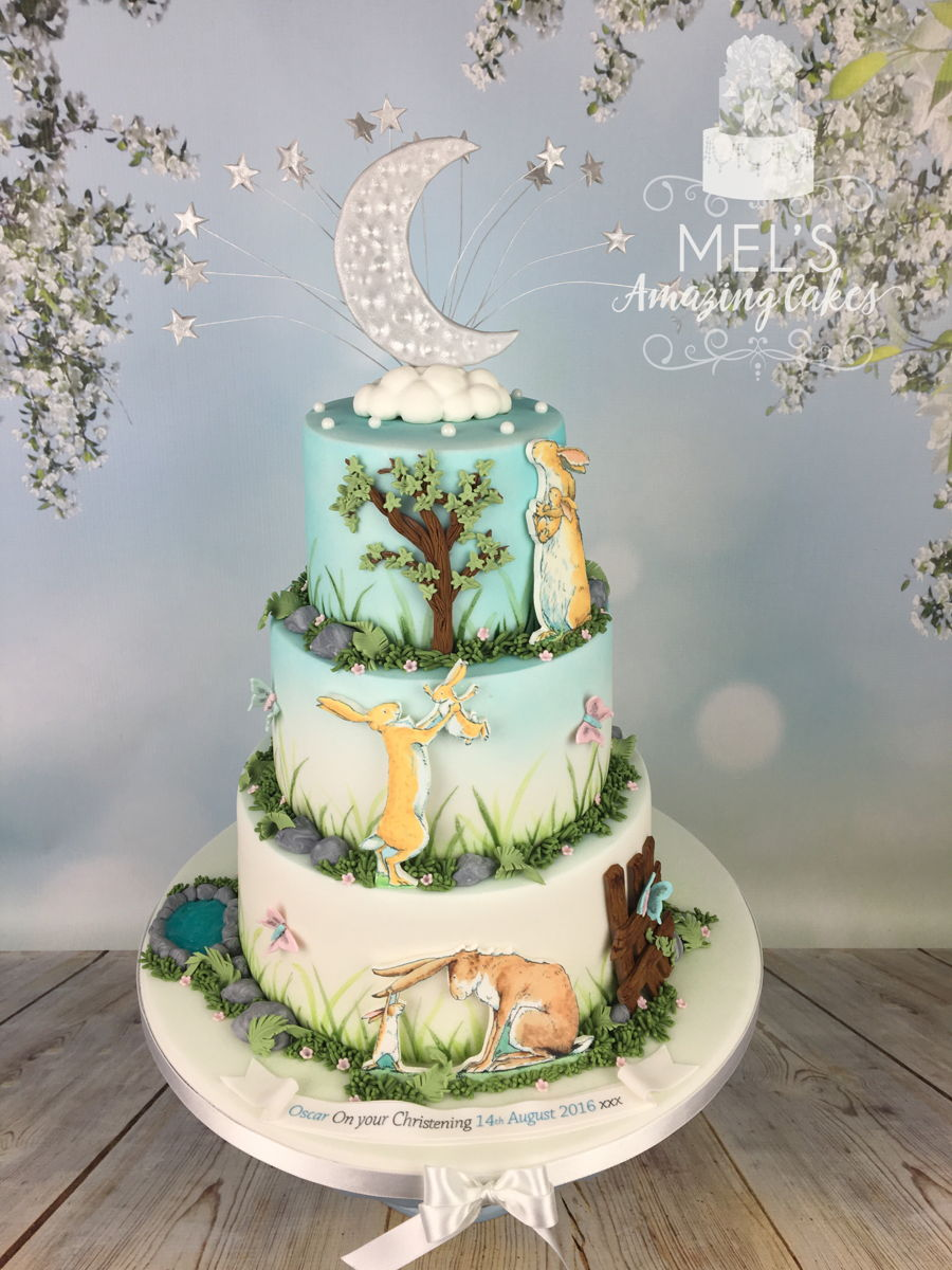 Guess How Much I Love You Christening Cake Cakecentral Com