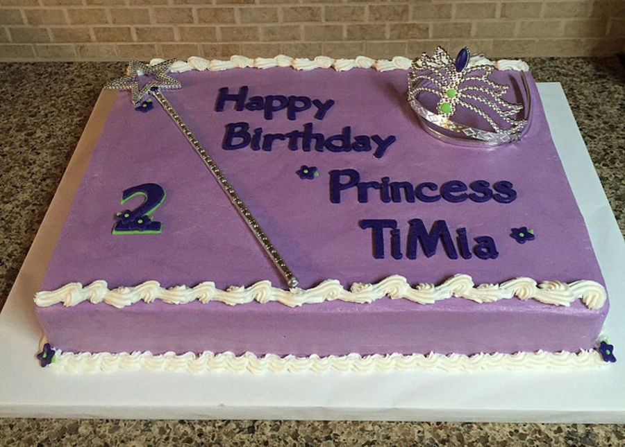 Happy Birthday Princess Cake CakeCentralcom