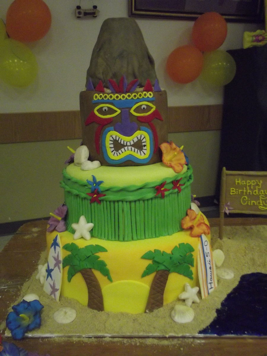 Hawaii 5 0 Birthday Cake