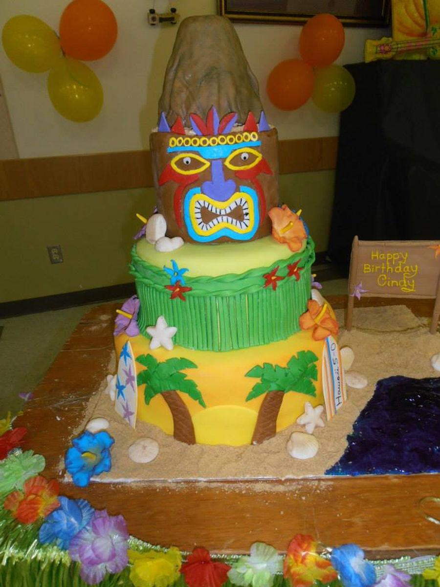 Hawaii 5 0 Birthday Cake