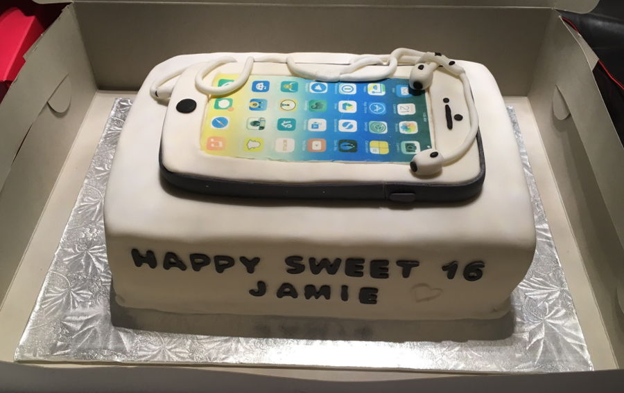 Iphone 6 Cake CakeCentralcom
