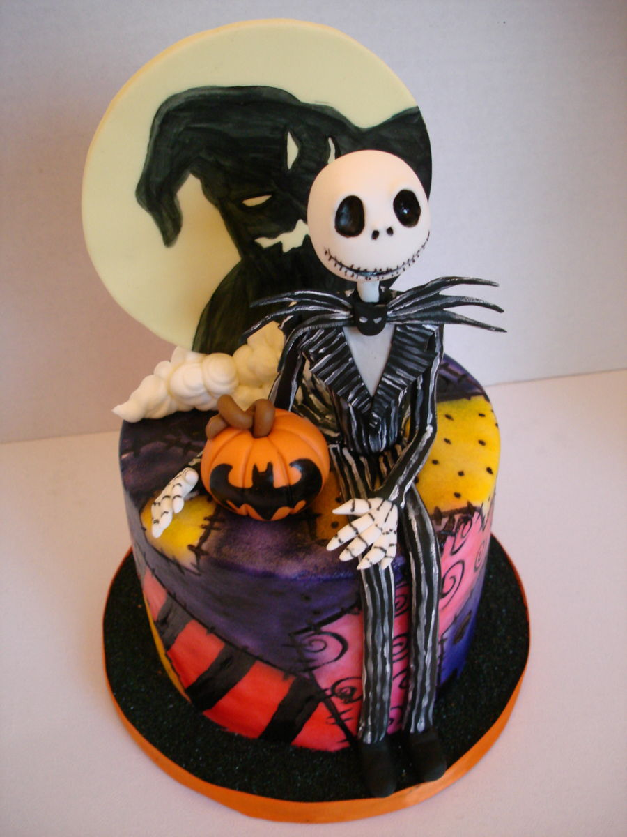 Jack Skellington Birthday Cake Cakecentral Com