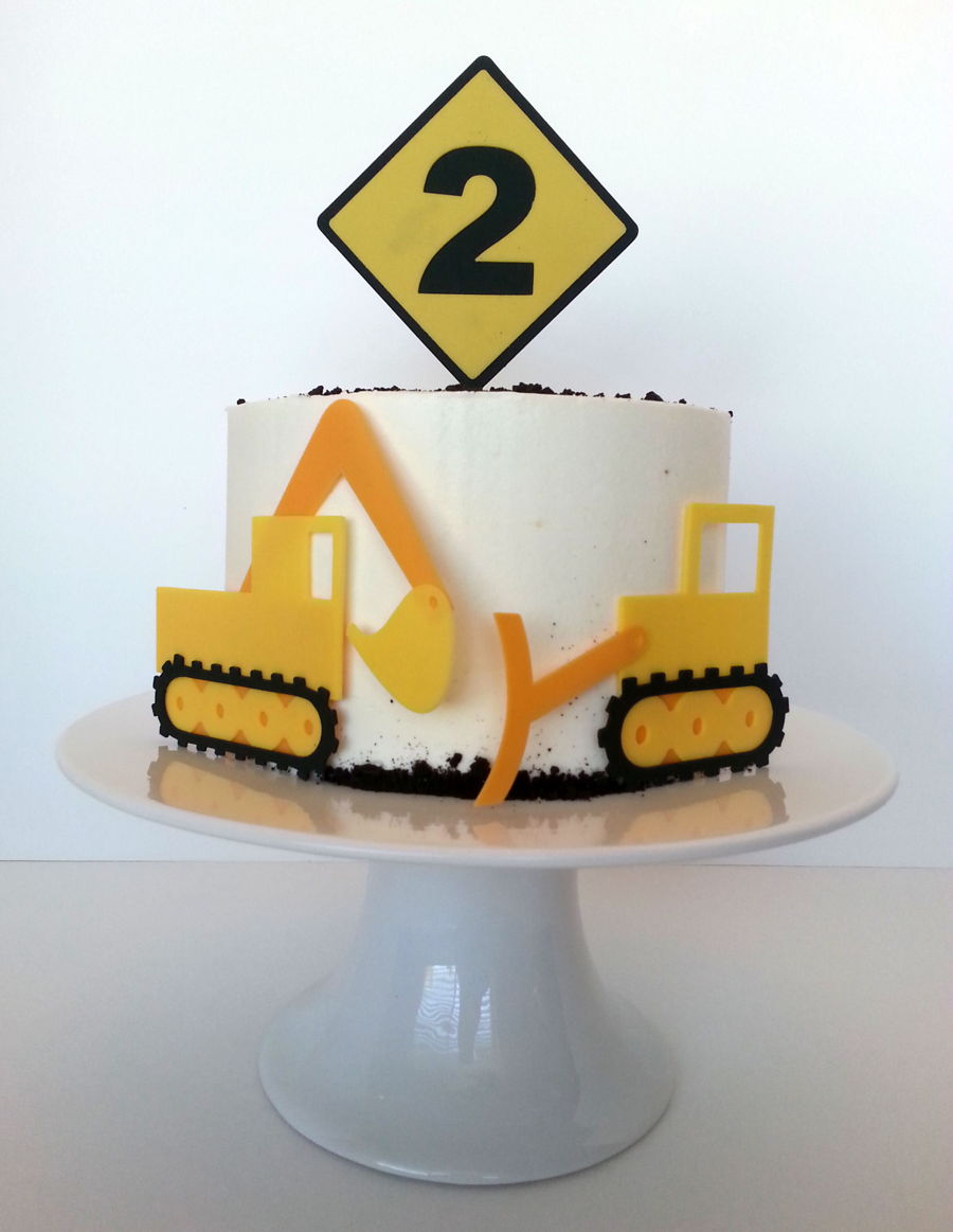 Phenomenal Kids Construction Equipment Birthday Cake Cakecentral Com Funny Birthday Cards Online Eattedamsfinfo