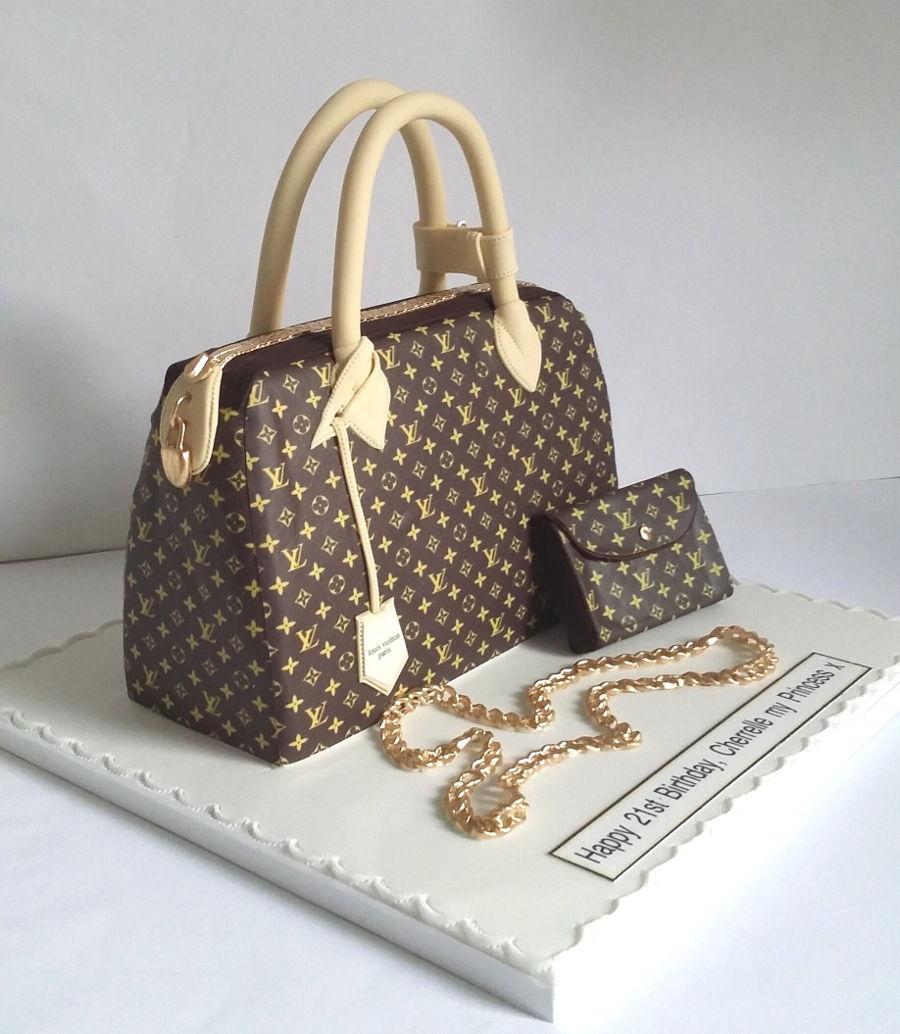 How To Design A Handbag Cake