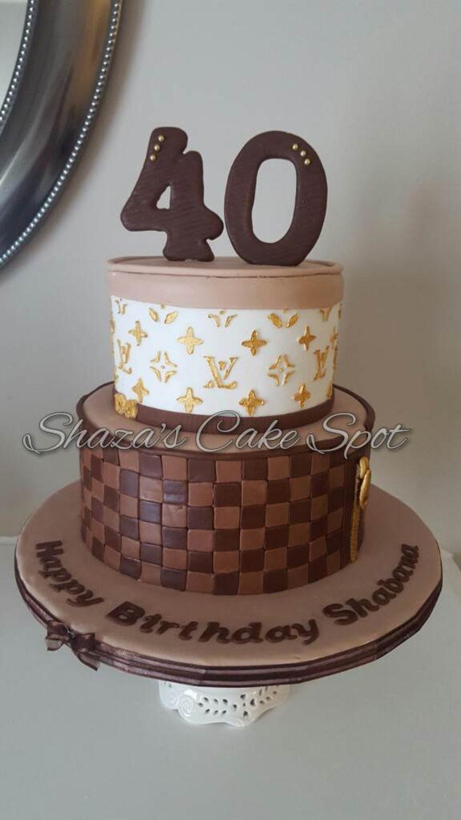 Louis Vuitton Birthday Cake Cakecentral