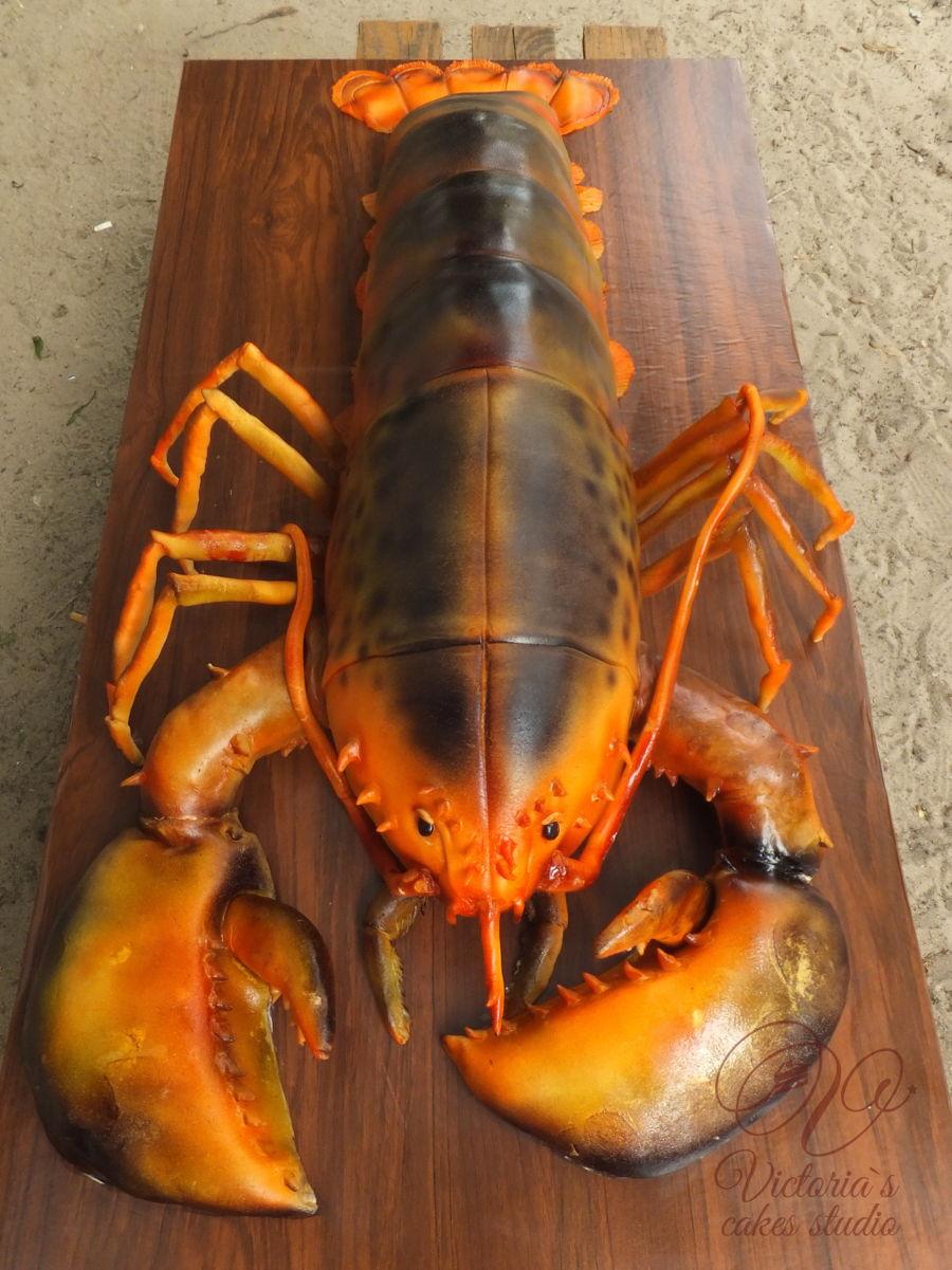 My 40 Lb Lobster Cake :) - CakeCentral.com