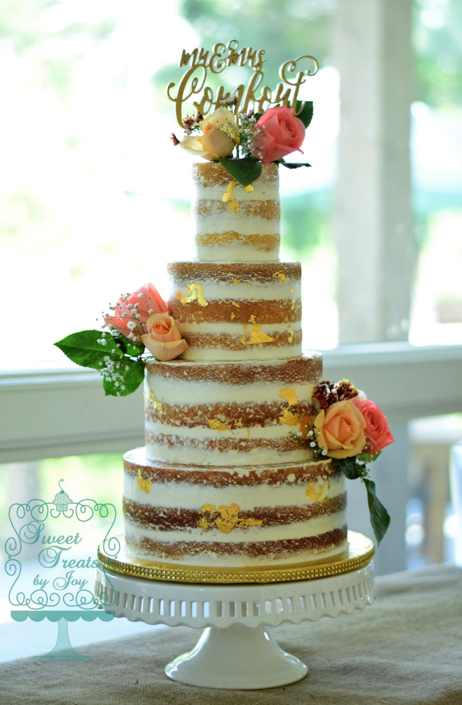 Naked Wedding on Cake Central