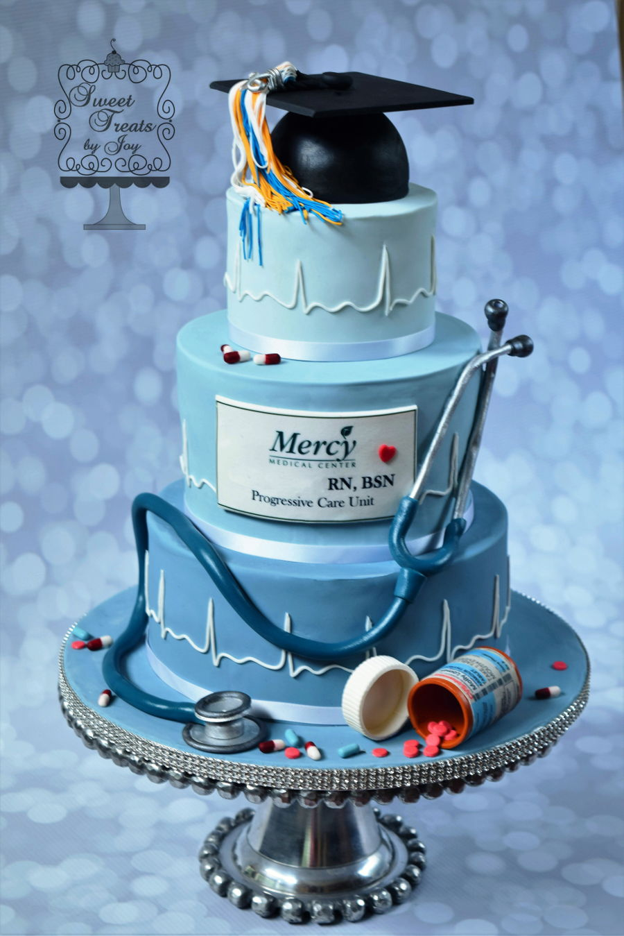 Nursing Graduation Cake Celebration Cakes