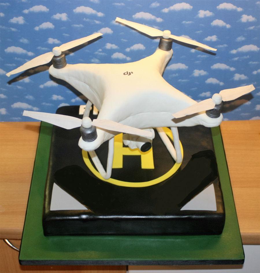 Phantom 4 Drone Cake Cakecentral Com