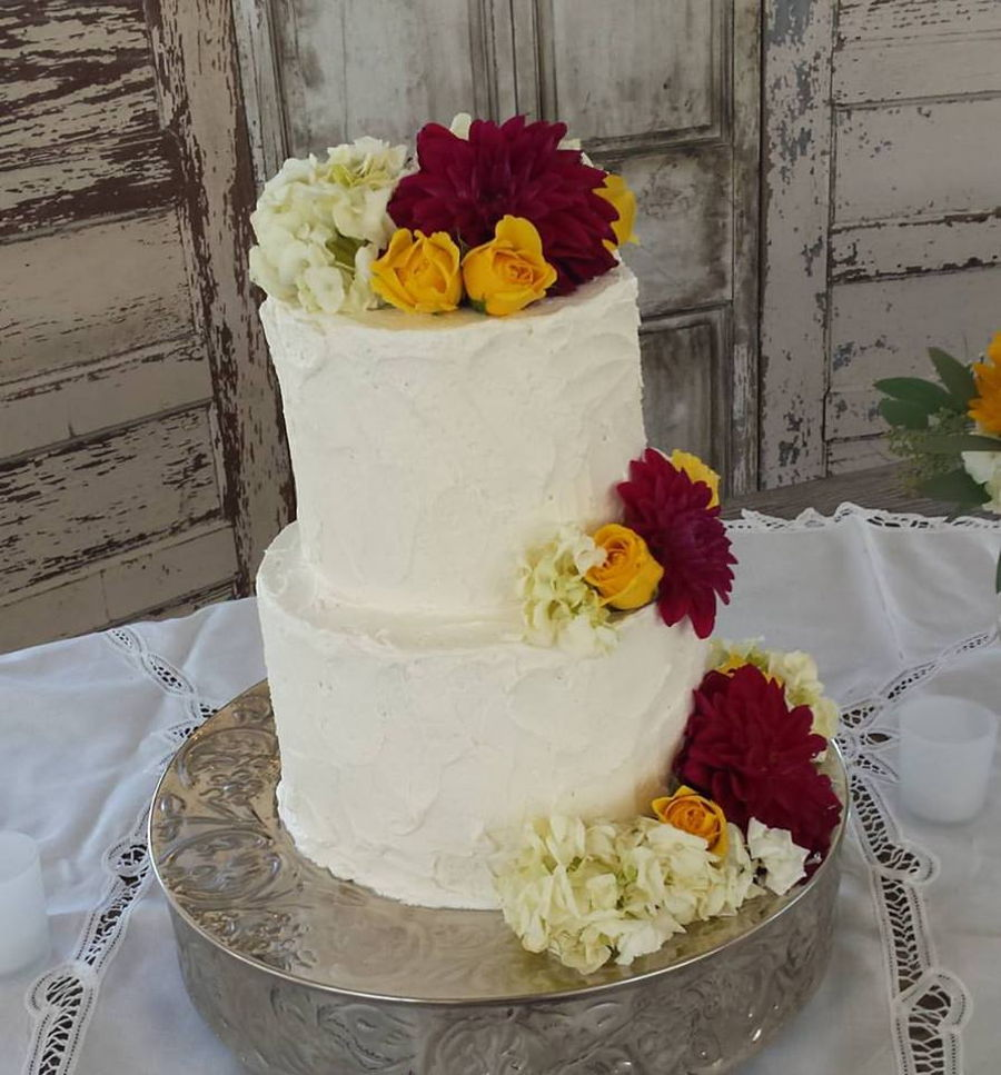 Rustic Chic Wedding Cakes: Rustic Shabby Chic Wedding Cake