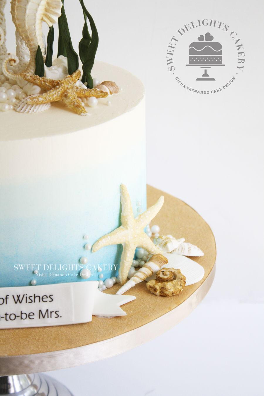 Sea Themed Cake - CakeCentral.com