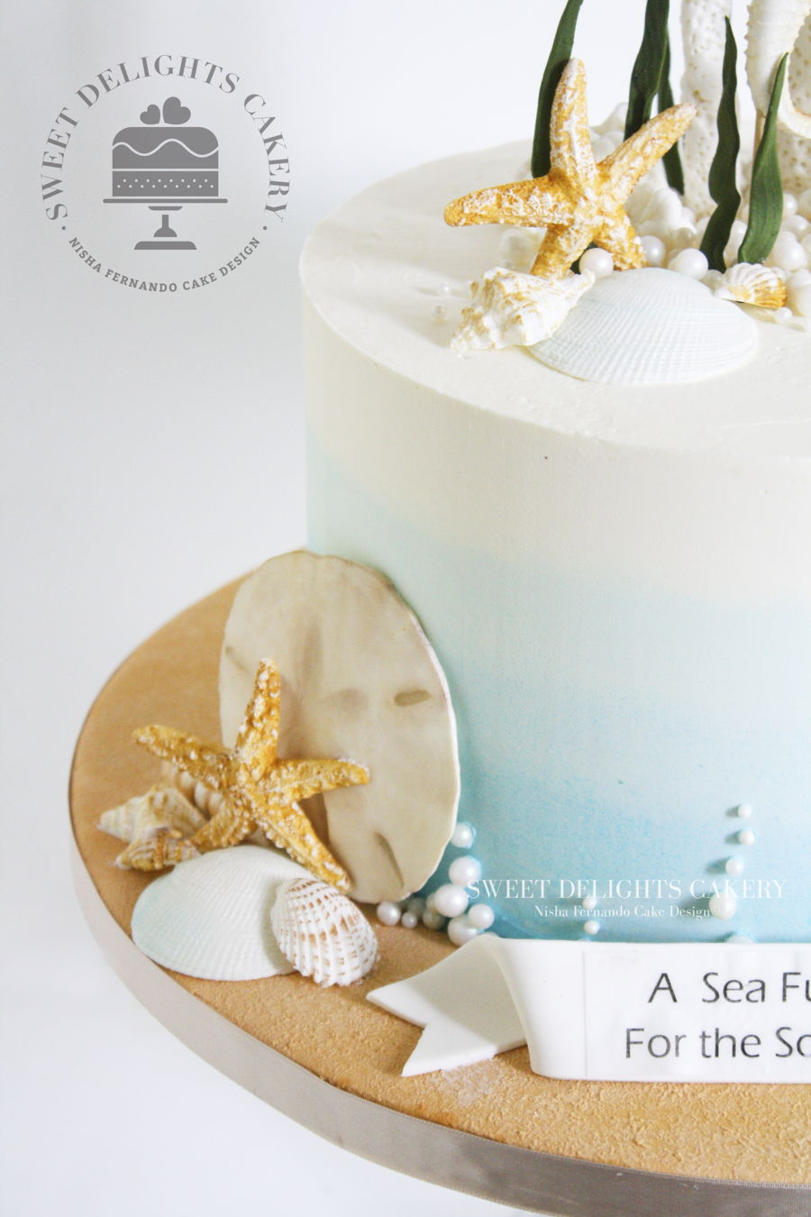 Sea Themed Cake - CakeCentral.com