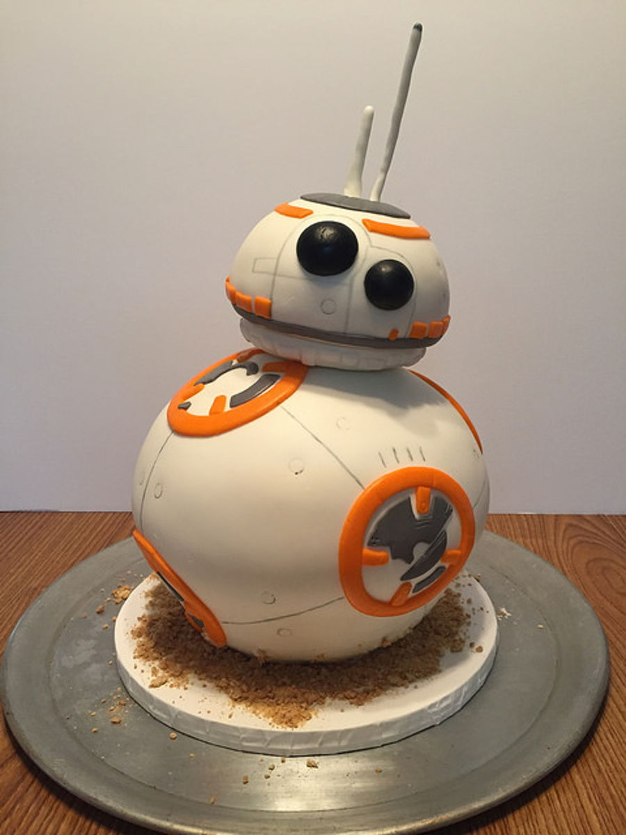 Star Wars Bb8 Birthday Cake Cakecentral Com