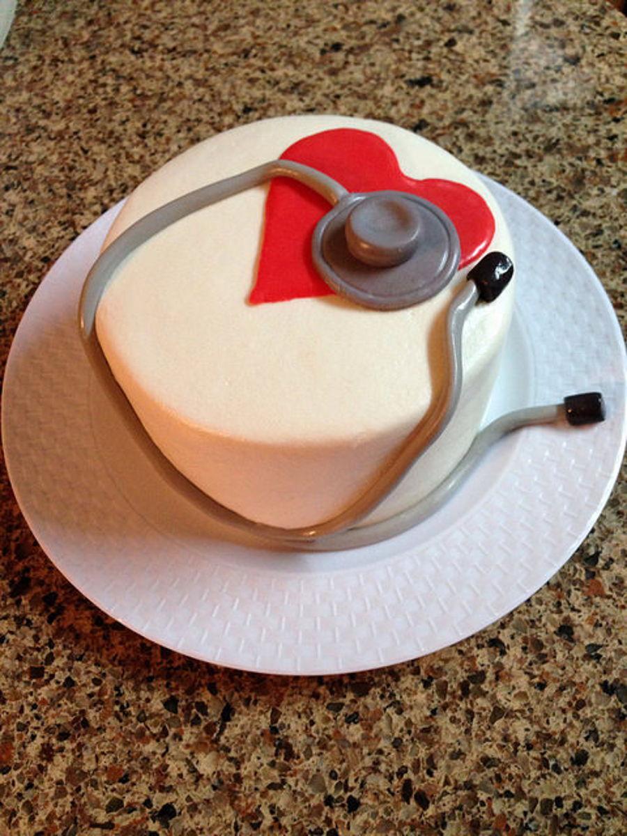 Stethoscope Cake Cakecentral Com
