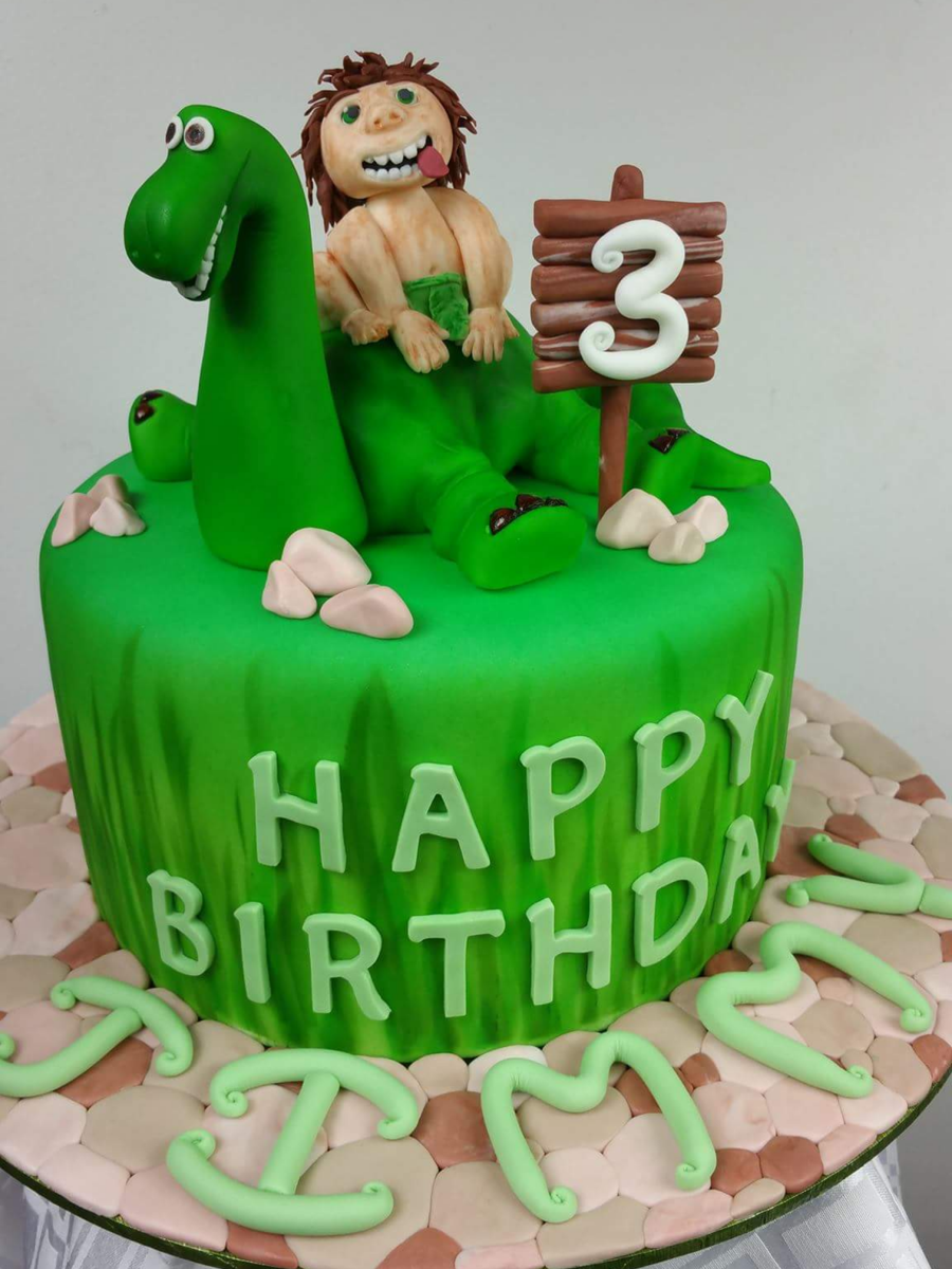 The Good Dinosaur Cake CakeCentralcom