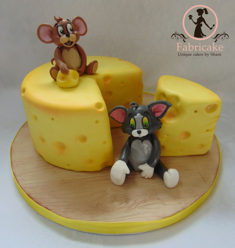 Tom And Jerry Birthday Cake Images