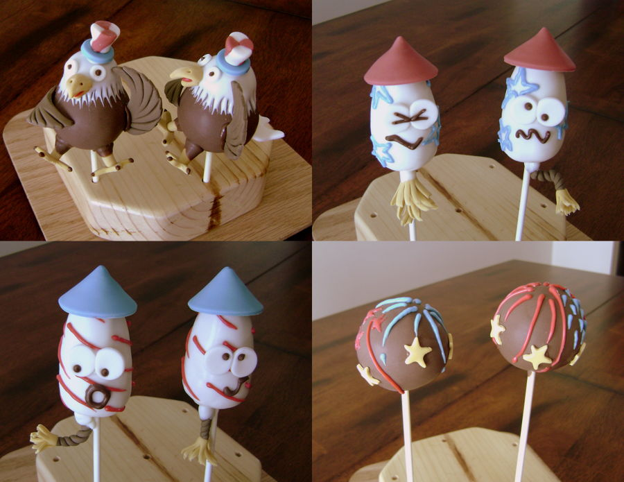 Memorial Day Cake Pops Recipe