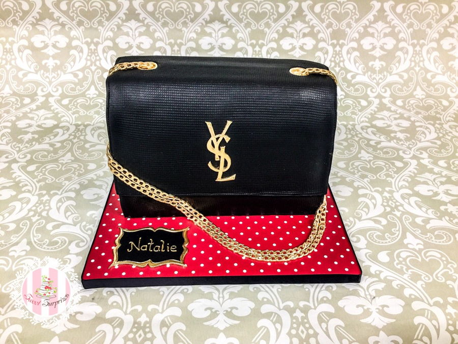 Ysl Clutch on Cake Central