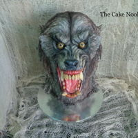 American Werewolf In London Cake. This is my Halloween cake this year. I based it on the werewolf, from American Werewolf In London, hope it comes across that way. Worked...