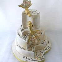 Guo Pei Inspired Cake I really admire the work of Guo Pei! It was an honor and a pleasure to do this cake. On the second picture is the dress of Guo Pei, who was...