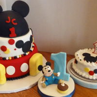 Jc's Mickey Mouse 1St Birthday Party This was for a little one who turned 1 year's old on November 13th & he was celebrating with 60 members of his family &...