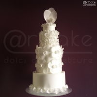 La Vie En Rose   bsolutely tolal whiteabsolutely and only waferpaper, another Inspired DressCake