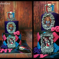 Monster High Monster High cake , edible images,