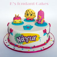 Shopkins Cake Shopkins Cake for Nagia