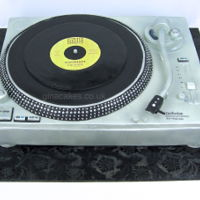 Technics Record Deck Cake Made for a friend's 50th brithday, he is a northern soul fan and part time DJ