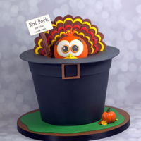 Thanksgiving Cake This is such a fun cake, perfect for the next major holiday.