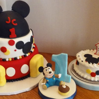 Jc's Mickey Mouse 1St Birthday Party