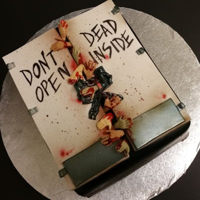 Walking Dead Cake on Cake Central